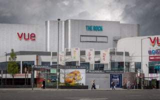 AMF Bowling and Vue Cinema Bury, The Rock
