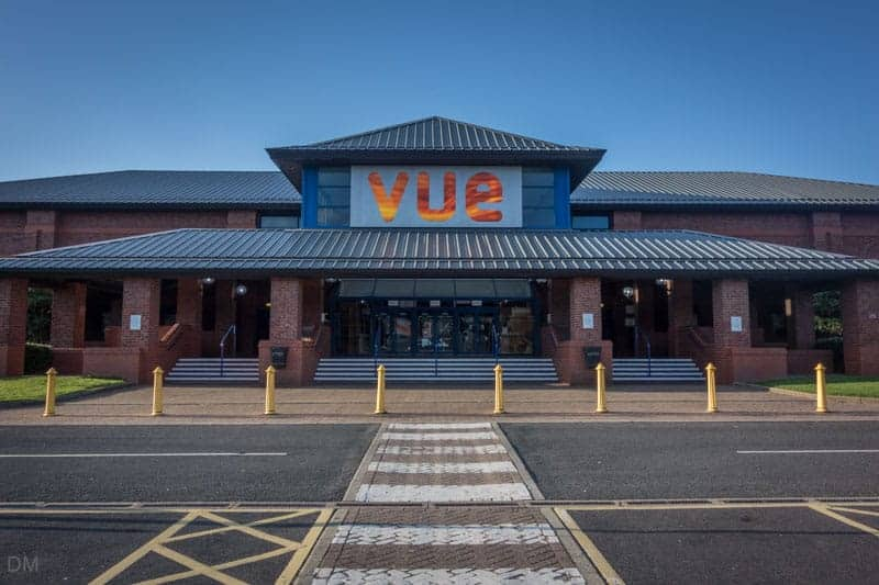 Vue Cinema at the Capitol Centre in Walton-le-Dale, near Preston