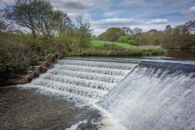 Weir, Burrs Country Park, Bury
