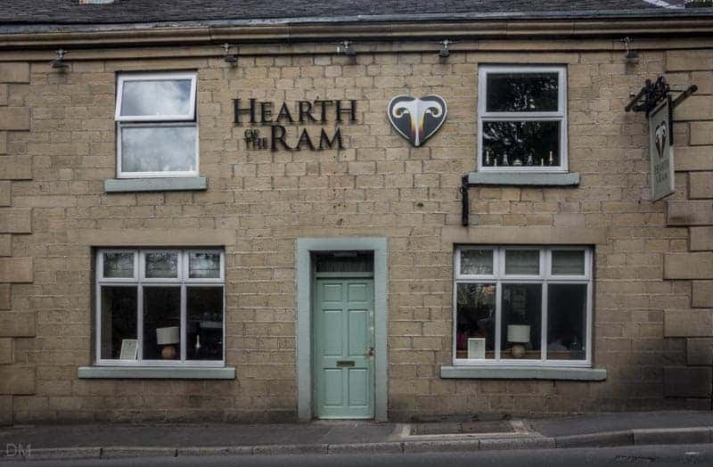 Hearth of the Ram pub and restaurant in Ramsbottom