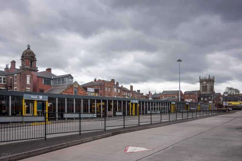 Wigan Bus Station