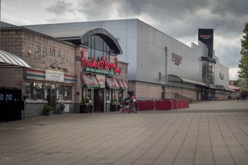 Empire Cinema Wigan and Frankie & Benny's, Robin Park.