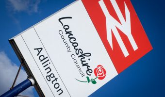 Adlington Train Station, Lancashire