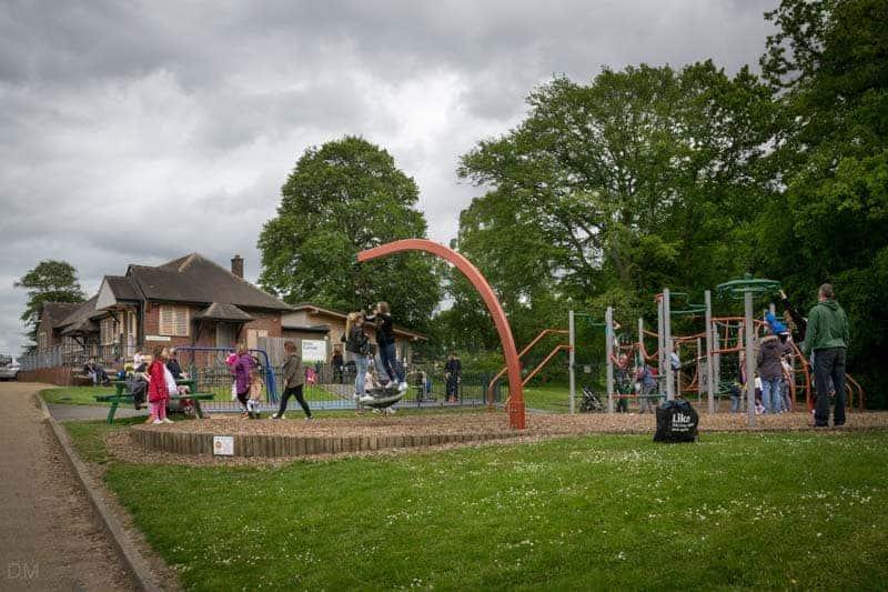 Playground near Pets' Corner, Astley Park, Chorley