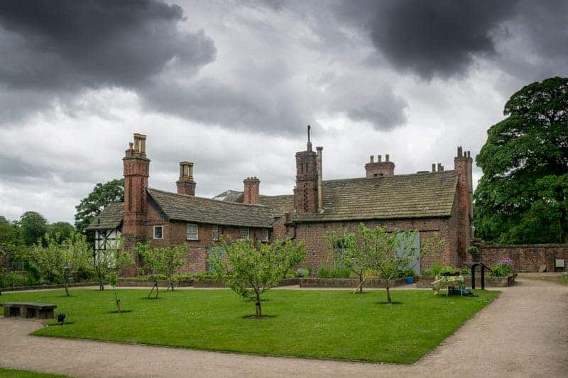 Orchard at the Walled Garden, Astley Hall, Chorley