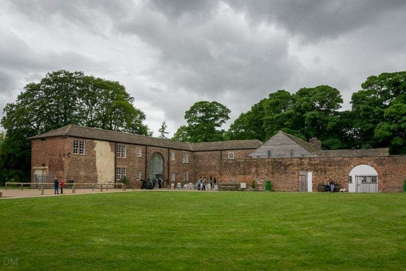 Coach House at Astley Hall and Park in Chorley, Lancashire