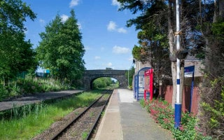 Croston Train Station near Chorley