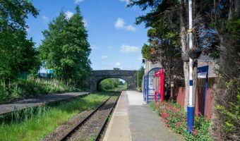Croston Train Station near Chorley