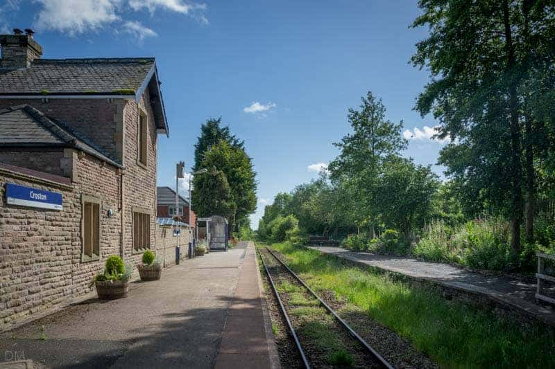 Croston Train Station and Station House
