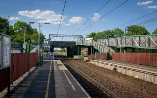 Euxton Balshaw Lane Train Station