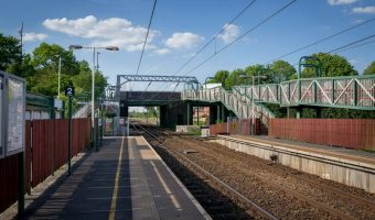 Euxton Balshaw Lane Train Station