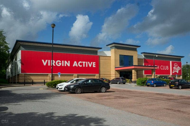 Virgin Active gym and health club at The Valley in Bolton
