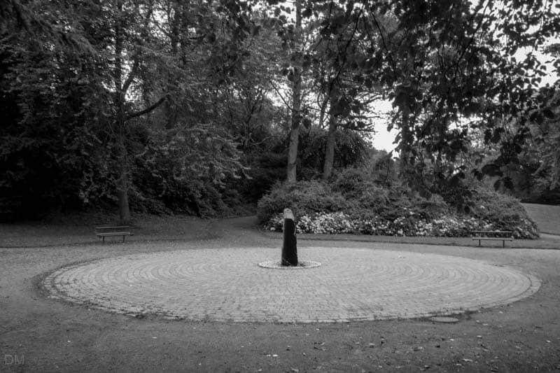 Labyrinth Sculpture, Bold Venture Park, Darwen