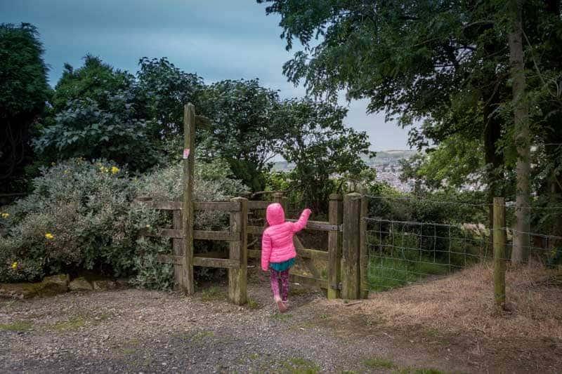 Gate to Punstock Lane, Darwen, Lancashire