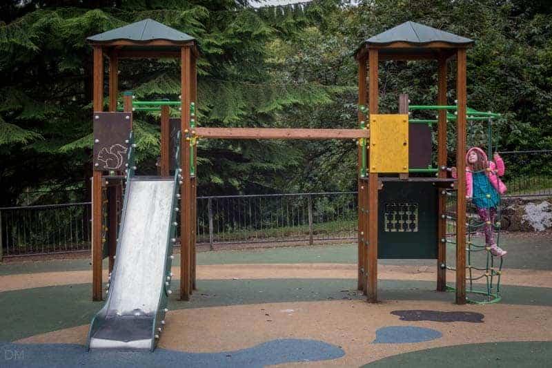 Children's play area at Bold Venture Park in Darwen Lancashire