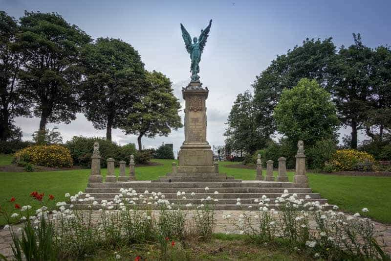 Darwen War Memorial, Bold Venture Park, Darwen,  Lancashire