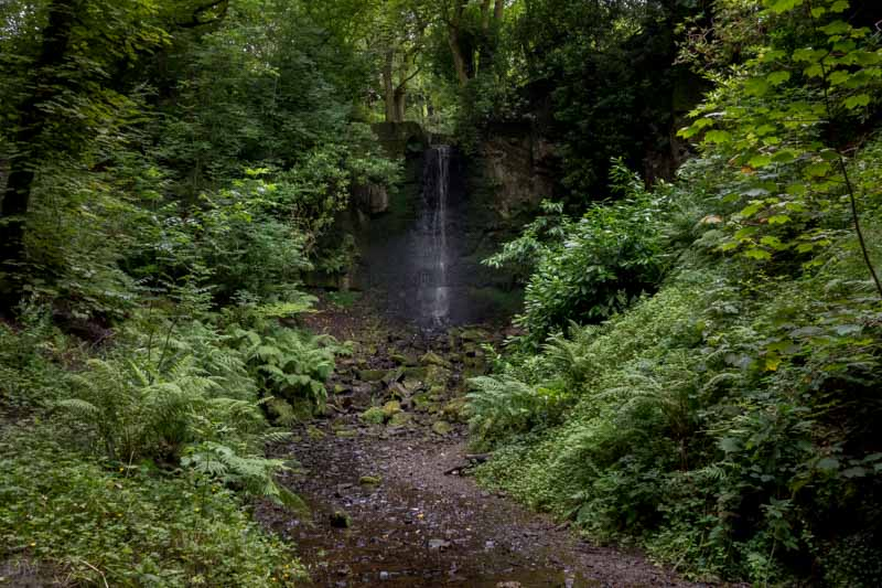 Waterfall, Bold Venture Park, Darwen, Lancashire