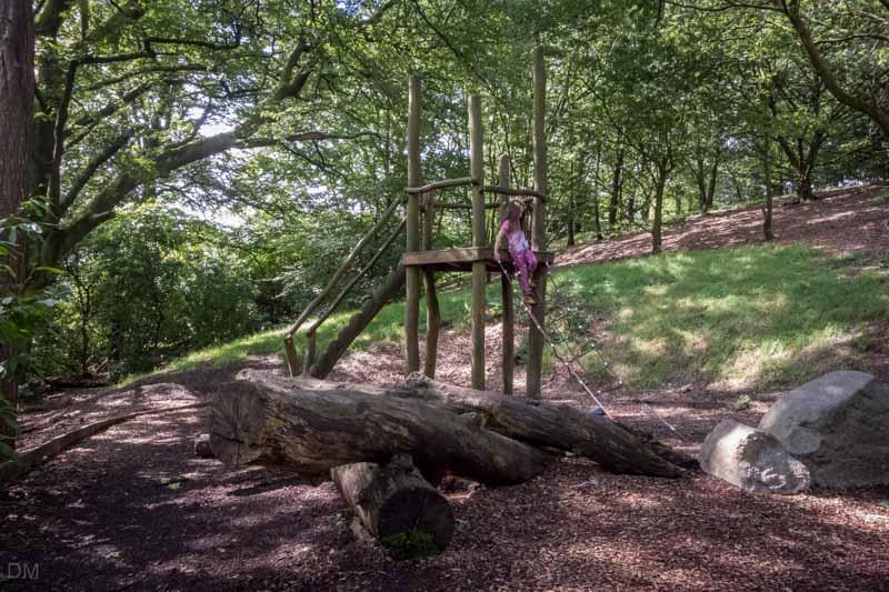 Woodland Play Area, Corporation Park, Blackburn