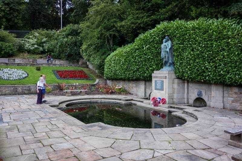 Garden of Remembrance, Corporation Park, Blackburn