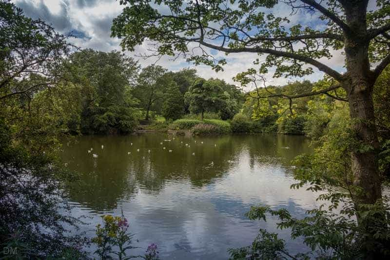 Main Lake at Corporation Park, Blackburn