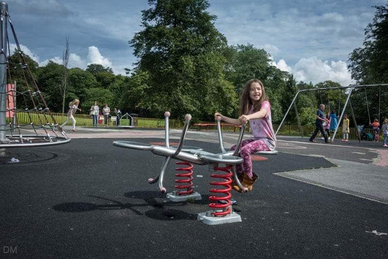 Playground, Corporation Park, Blackburn