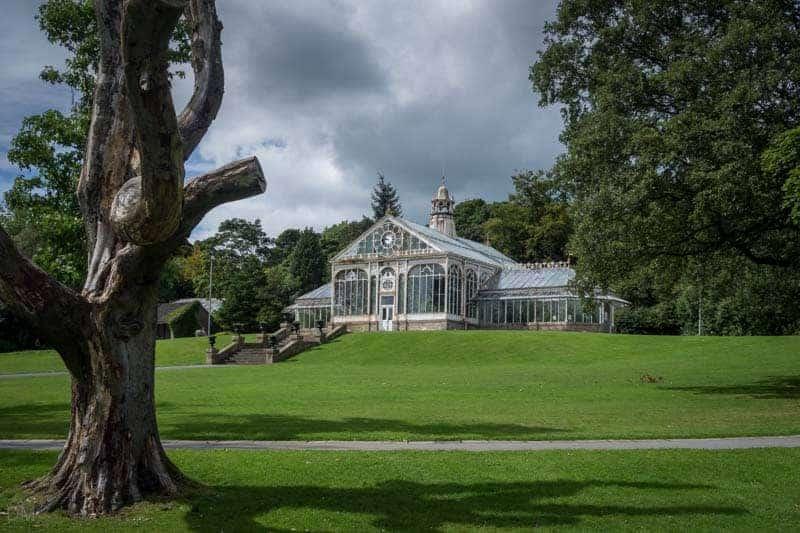 Conservatory at Corporation Park, Blackburn