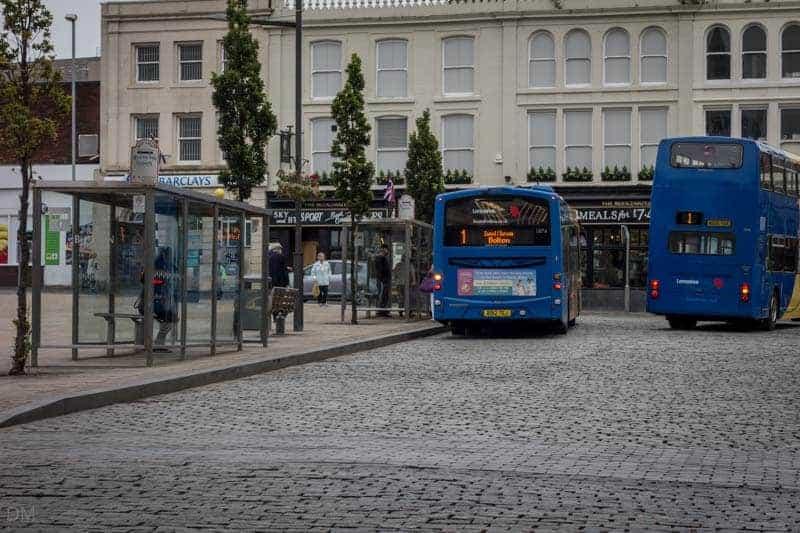 Darwen Bus Station - Number 1 Buses (Blackburn to Bolton)