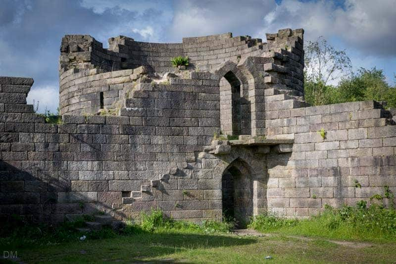 North West Tower (or Great Tower) at Liverpool Castle, Rivington