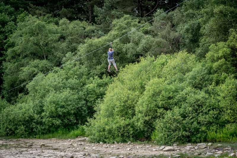 Go Ape - Zip Wire at Lower Rivington Reservoir
