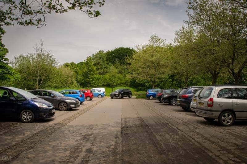 Car Park at Rivington Hall Barn