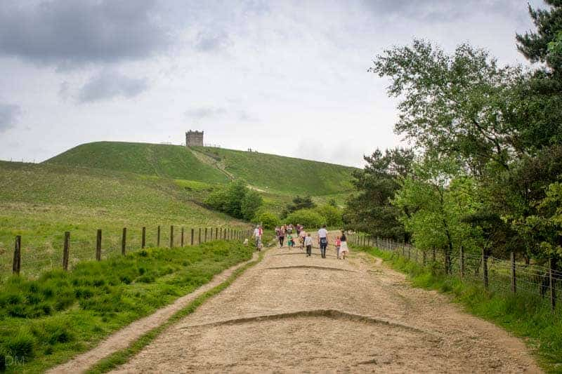 Trail to Rivington Pike