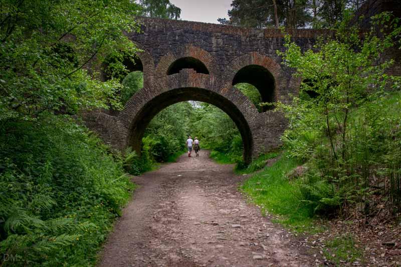 Lever Bridge (Seven Arch Bridge) at Rivington Terraced Gardens