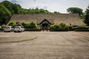 Rivington Hall Barn - Entrance and Car Park