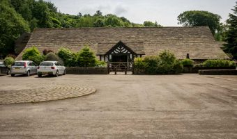Rivington Hall Barn - Entrance and Car Park
