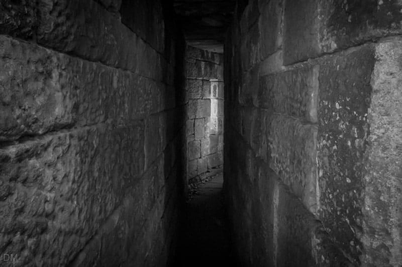 Passage - South West Tower (Castle Keep), Liverpool Castle, Rivington