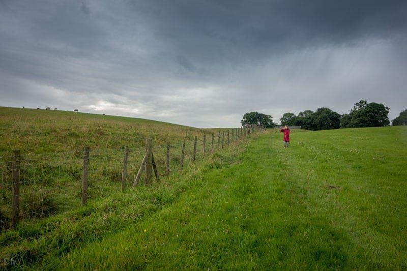 Path from Ryal Farm