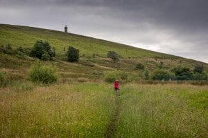 Walk to Darwen Tower, Lancashire