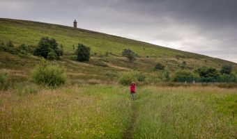 Walk to Darwen Tower, Lancashire