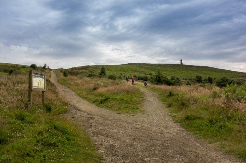Path to Darwen Tower