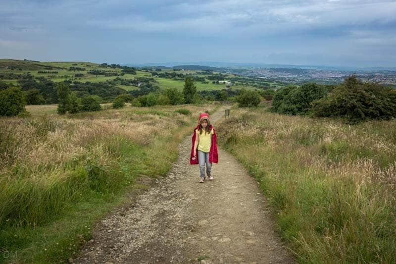 Track to Darwen Tower, Darwen, Lancashire