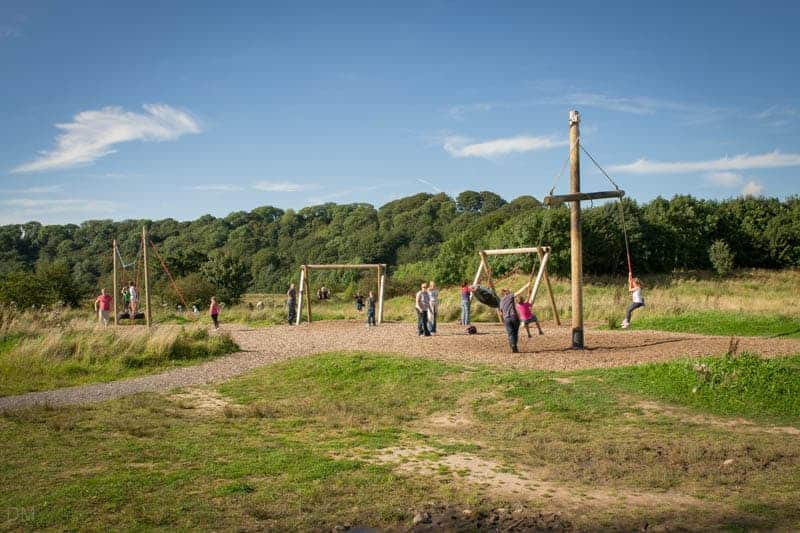 Playground at Brockholes nature reserve