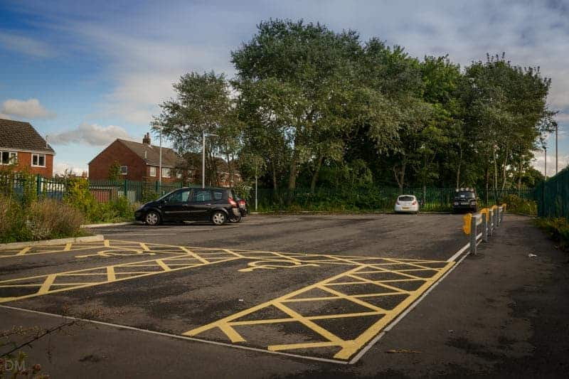 Car Park at Lostock Hall Train Station