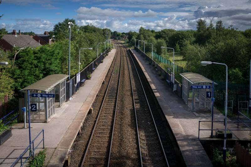 Lostock Hall Train Station
