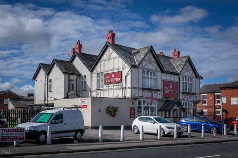 Victoria Pub on Watkin Lane, Lostock Hall, Lancashire.