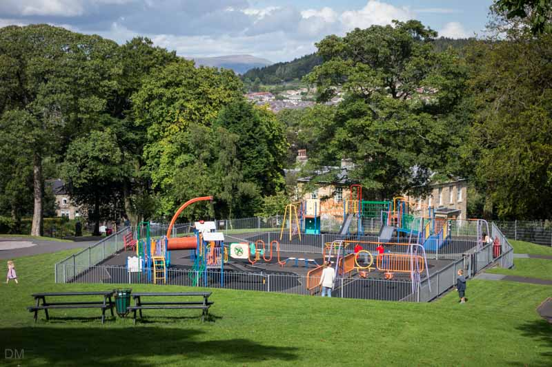 Playground at Oak Hill Park, Accrington, Lancashire