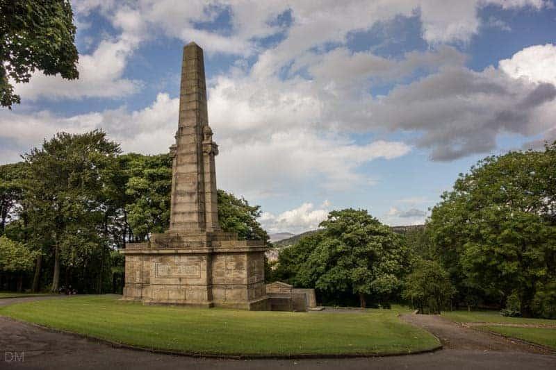 Accrington War Memorial, Oak Hill Park, Accrington