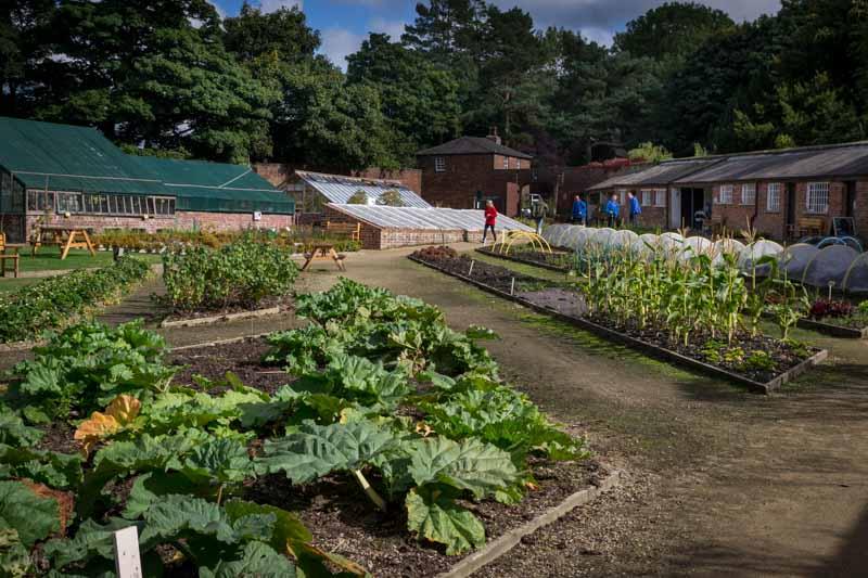 Walled Garden, Worden Park, Leyland