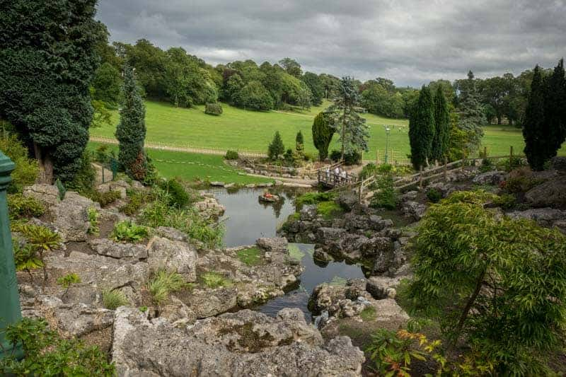 Japanese Gardens at Avenham Park in Preston.