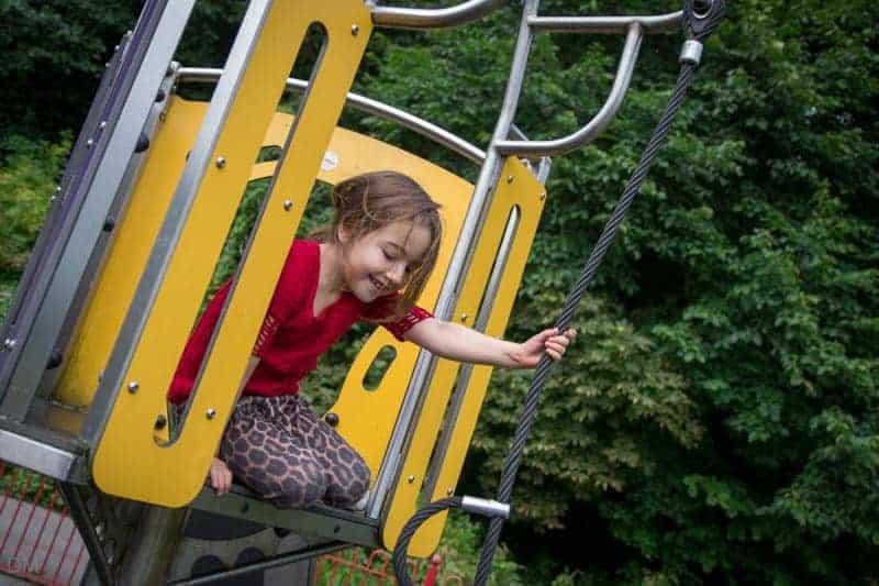 Frenchwood Recreation Ground Playground at Avenham Park in Preston.