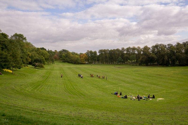 Avenham Park, Preston.
